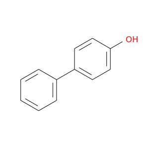 Oc1ccc(cc1)c1ccccc1