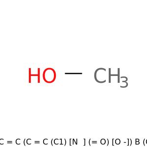 OC=1C=C(C=C(C1)[N+](=O)[O-])B(O)O