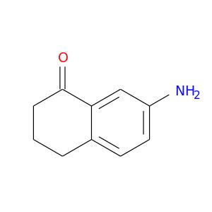 Nc1ccc2c(c1)C(=O)CCC2