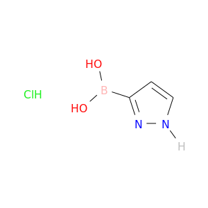 OB(c1cc[nH]n1)O.Cl