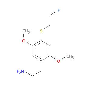NCCc1cc(OC)c(cc1OC)SCCF