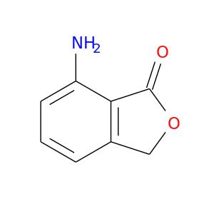 O=C1OCc2c1c(N)ccc2