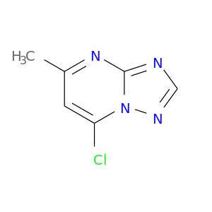 Cc1cc(Cl)n2c(n1)ncn2
