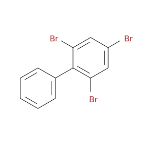 Brc1cc(Br)c(c(c1)Br)c1ccccc1