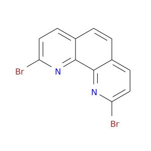 Brc1ccc2c(n1)c1nc(Br)ccc1cc2