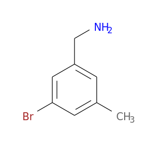 NCc1cc(C)cc(c1)Br
